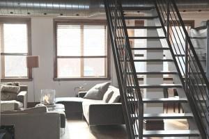 a fancy apartment