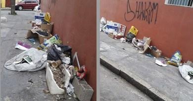 Leitora pede limpeza da rua Abolição