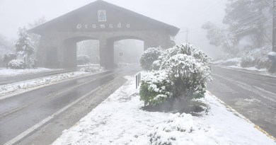 Brasil deve ter neve nesta terça-feira