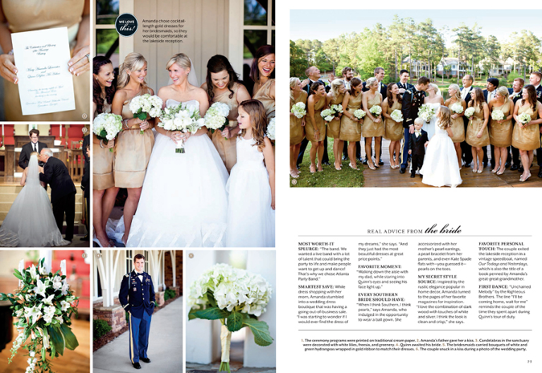 Southern Living Weddings J Rawlings Photography