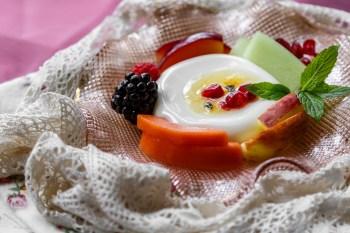 pana cota, dessert, food photography