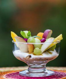 Health breakfast, food photography