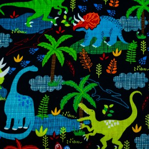 Personalized Dinosaur Scene Weighted Blanket
