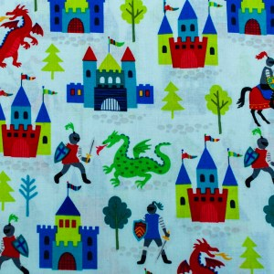 Personalized Dragons Castles Weighted Blanket