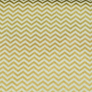Personalized Gold Chevron Weighted Blanket
