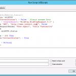 VBScript Site Status