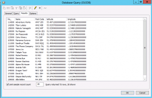 Customer Postcode Data