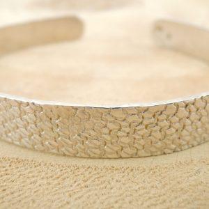 bracelet Impression Mailles en argent 925