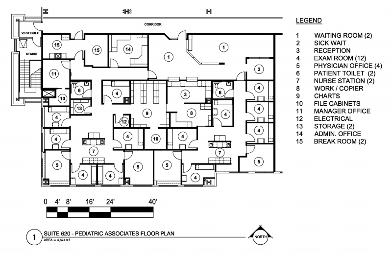 Commercial Office Electrical Plan