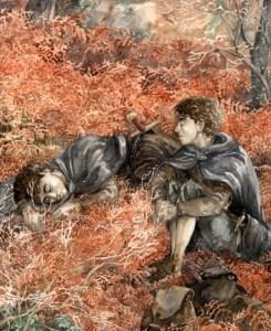 Sam e Frodo