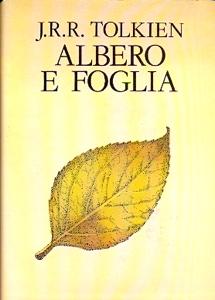"""Copertina di """"Albero e foglia"""" d J.R.R. Tolkien"""
