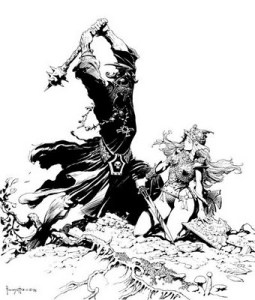 Eowyn e il Nazgul