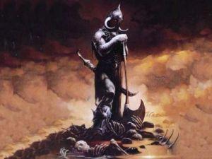 """Illustrazione """"Morte"""" di Frank Frazetta"""
