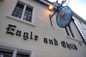 "Oxford: pub ""The Eagle and the Child!"