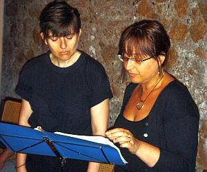 Letture recitate alle Rive dell'Anduin, a Roma (giugno 2005)