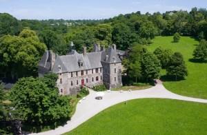 Il castello di Cerisy la Salle (Bassa Normandia - Francia)