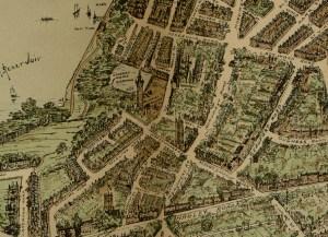 """Mappa di Edgbaston pubblicata sul """"Birmingham Gazette and Mail"""" nel 1904"""