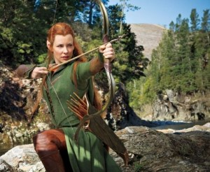 Film Lo Hobbit: Evangeline Lilly in Tauriel