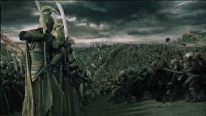 Film di Peter Jackson: un frammento degli Elfi guerrieri