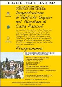 """locandina """"Borgo della Poesia"""""""
