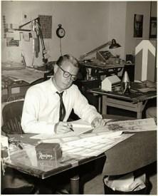 Arthur Bankin al lavoro
