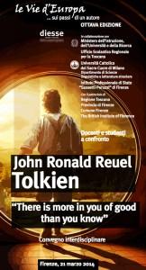 Locandina Tolkien a Firenze 2014