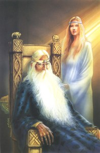 "Angelo Montanini: ""Theoden and Eowyn"""