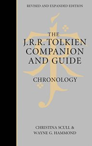 J. R. R. Tolkien Companion and Guide - Chronology