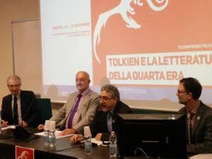 Allan Turner, Tom Shippey, Roberto Arduini and Thomas Honegger - Trento 2017