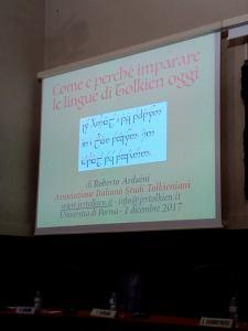 Tolkien linguista e glottopoieta - Parma 2017 - 3