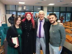 Tom Shippey, Leonardo Mantovani, Valérie Morisi, Sara Gianotto