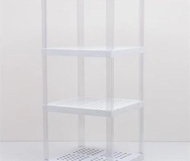 Accessories Milk Plastic Display Shelves