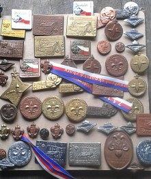 Odznaky - výroba odznaků pro skauty a Junák