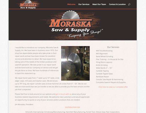 Moraska Saw Sharpening Michigan