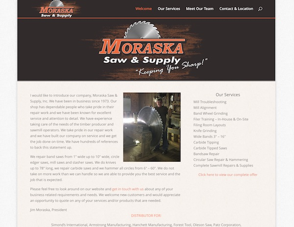 Moraska Saw Sharpening Michigan