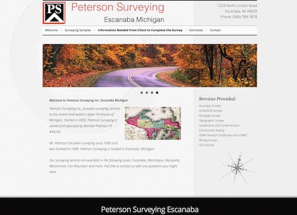 Peterson Surveying Escanaba