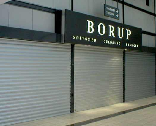 Tyverisikring Borup-rulleskodder