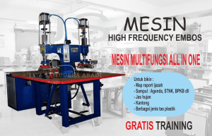 Mesin high frequency embos