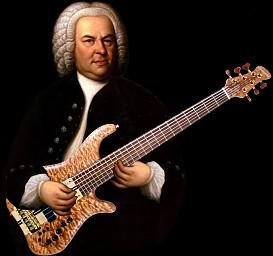 JS Bach Johann Sebastian Bach tattoo tat crest rock and roll Germany baroque period classical pianist