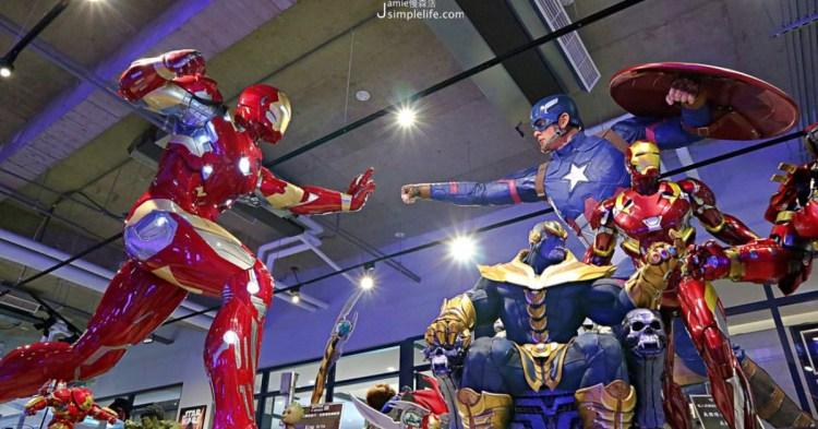 台中北屯|歐雅英雄主題館,漫威英雄真人比例1:1原封呈現