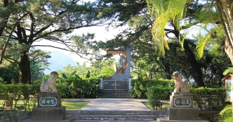 花蓮文化景點:日本神社遺址與「新城天主教堂」藤蔓攀附的歷史光年