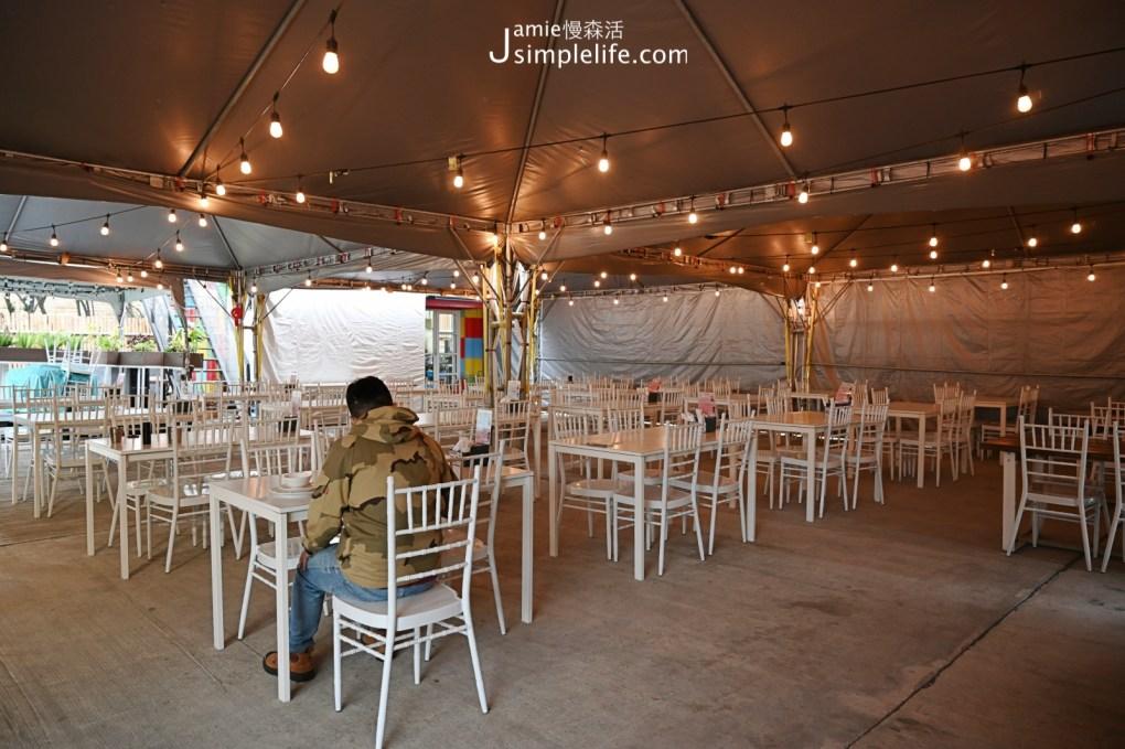 台中向海那漾豪華露營區 餐廳空間