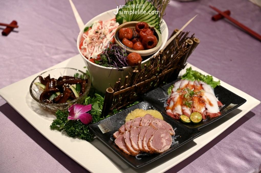 有吃也有住宿「大東北角」全都包 宜蘭礁溪兆品酒店 晚餐冷盤