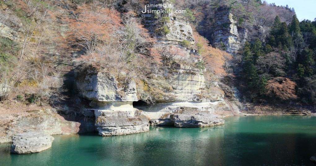 日本福島百年天然奇景「塔崖」福島30景、近會津鐵道