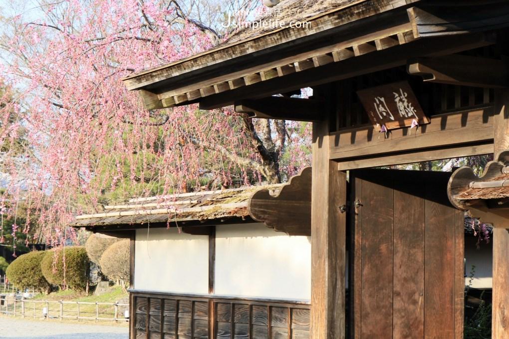 日本福島會津若松城園內的茶室麟閣