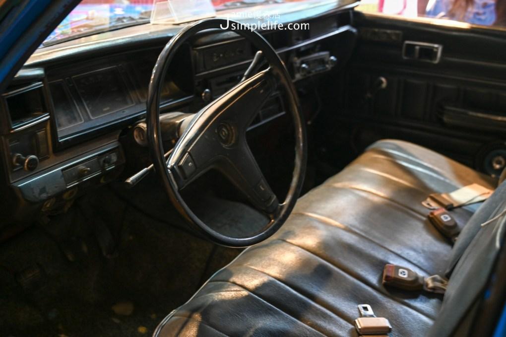 宜蘭蘇澳計程車博物館 台灣裕隆勝利803計程車 內部結構