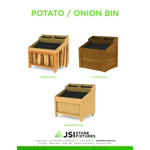 Voguish Sale Stackable Potato Onion Bin Potato Bin Plans Design