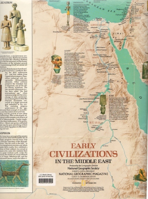 Maps Atlases   Reference Resources   LibGuides at Bob Jones University Early civilizations in the Middle East by Rogers  Richard K   assistant  chief cartographer    Cartographic Division  National Geographic Society