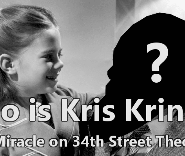 Miracle On 34th Street Fan Theory