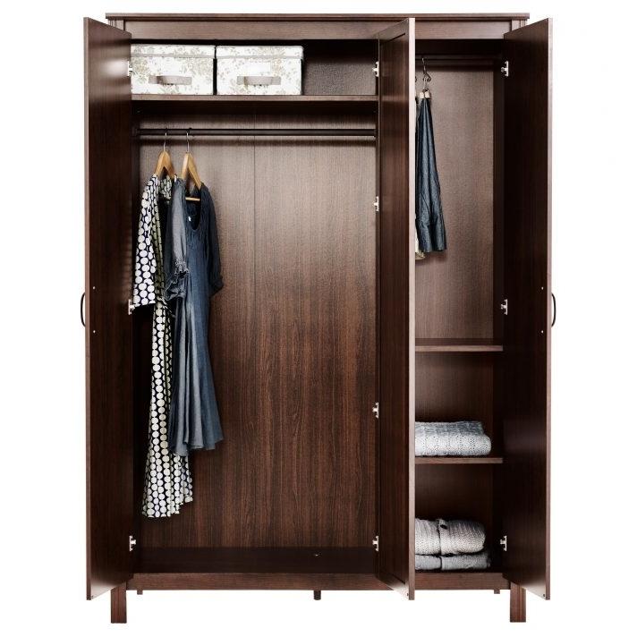 Dark Wood Wardrobe Closet